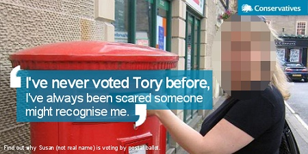 I've never voted Tory